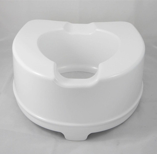 6'' Heavy Duty 15cm Bariatric Raised Toilet Seat Raiser Mobility Aid up to 35st 35 stone Elevated