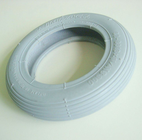 6x1 1/4 Grey Rib Wheelchair Tyre