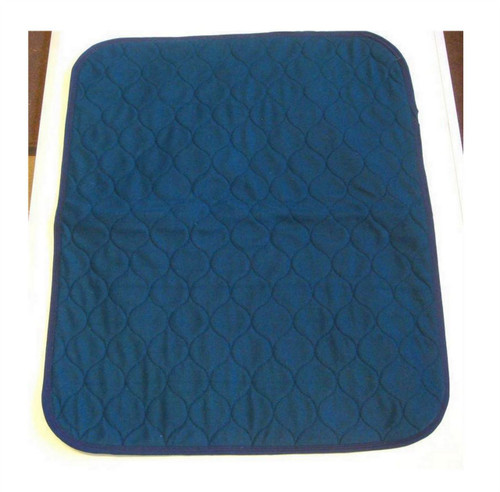 Blue Absorbent Chair Pad with Waterproof Backing Incontinence Product Free Delivery