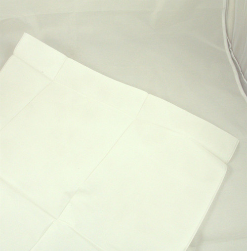 V11/SINGLE Single Heavy Duty PVC Plastic Treated Pillow Case Protector Washable