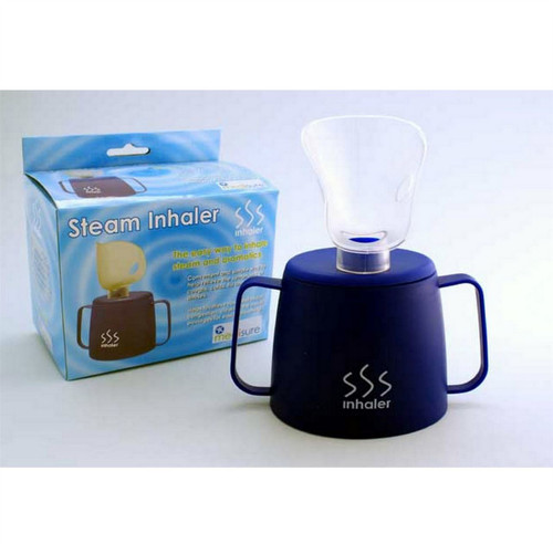 MS05475 Medisure Steam Inhaler Inhalation Cup with Two Handles Clear Sinuses Loosen Mucous and Catarrh