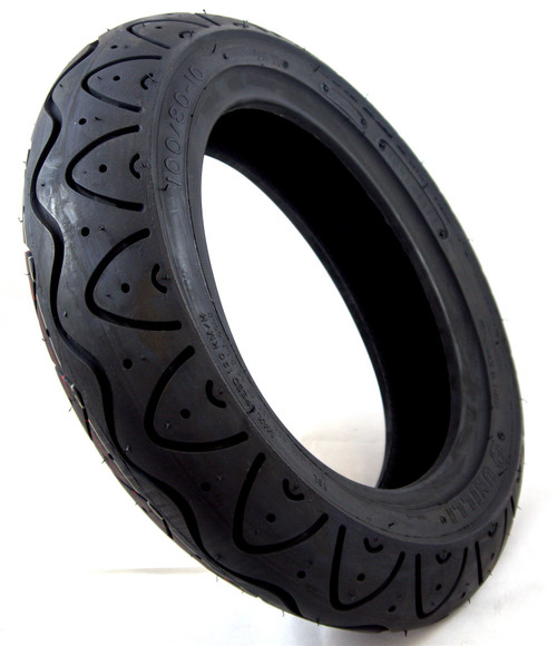 100/80-10 Black Unelli Pneumatic Mobility Scooter Tyre