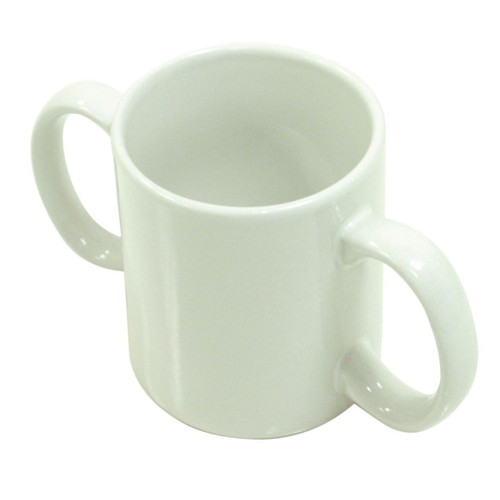 VM922 Aidapt Ceramic Two Handled Mug Disability Drinking Aid