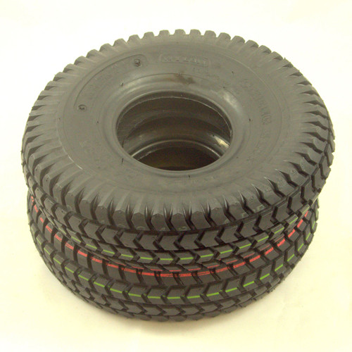 C248PNBX2 Cheng Shin Black Block Pneumatic Tyres Pair for Mobility Scooters and Power Chairs