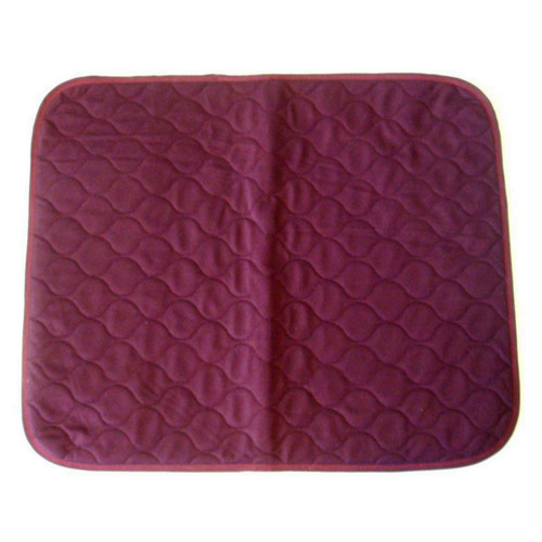 Red Maroon Burgandy Chair Pad Incontinence Mat Cover Absorbent Sheet
