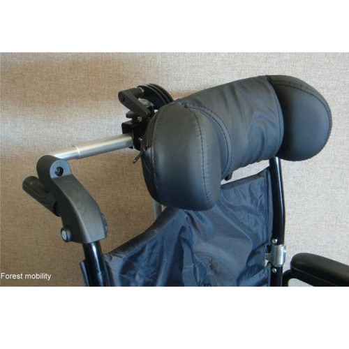Head Rest for Wheelchair  UNIVERSAL WHEELCHAIR HEADREST ANGLE, HEIGHT & WIDTH ADJUSTABLE FITS MOST CHAIRS