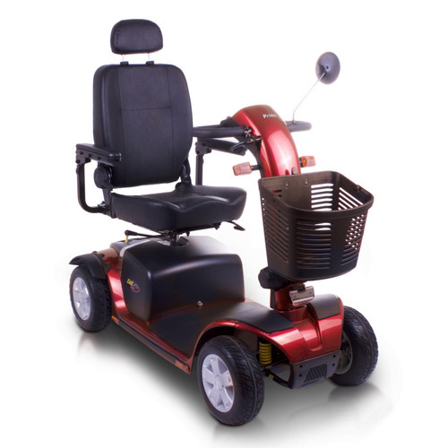 Red Colt Sport Large 8mph Mobility Scooter from Pride