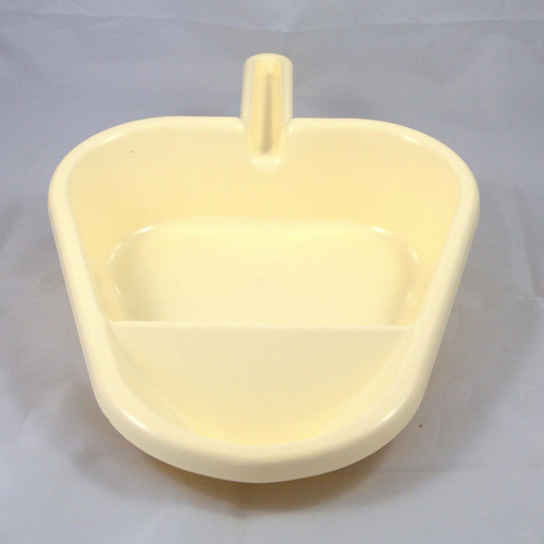 PSPS Plastic Bed Pan Liner Support with Handle