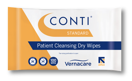 cbw110 Conti Standard Patient Dry Wipes Nursing Washing and Bathing Sheets Disposable