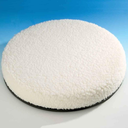 Drive Medical Swivel Cushion with Removable Washable Polyester Fleece Cover suitable up to 19 stone/120kg, (SWIV001R)
