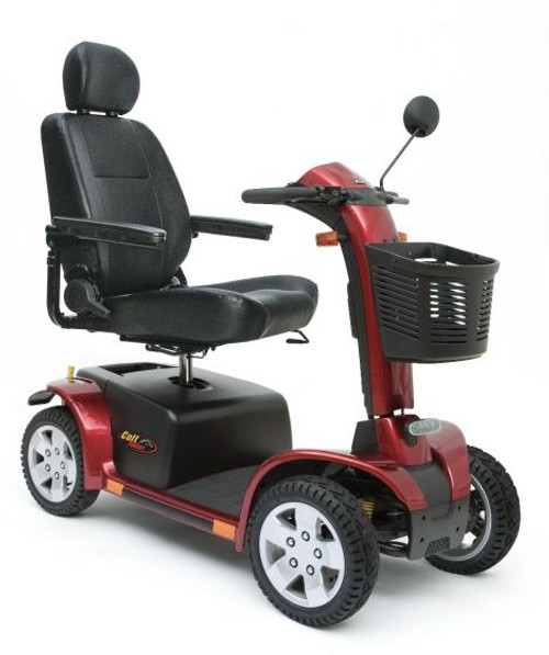 Pride Colt Pursuit 8mph 70ah Heavy Duty RED Mobility Scooter