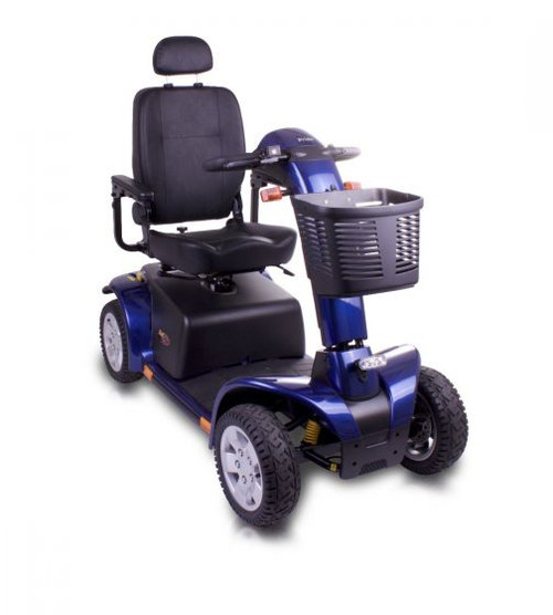 Pride Colt Pursuit 8mph 70ah Heavy Duty Blue Mobility Scooter