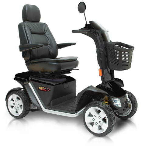 Pride Colt Executive 8mph 100ah Heavy Duty Mobility Scooter in Black