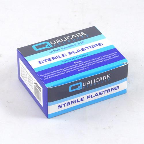Qualicare Blue Detectable Plasters 7.2 x 2.5cm Qty 100