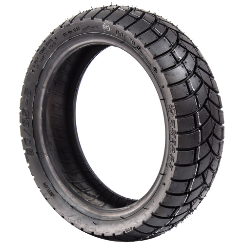 80/65-8 Black pneumatic tyre suitable for the Kymco Agility Scooter or any scooter that requires this size tyre, 4ply, 32psi by Unilli. Free standard uk delivery by Forest Mobility.
