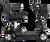 Pride Apex Lite 12ah 4mph - Black Lightweight Portable Scooter