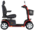 Pride Colt Pursuit 8mph 50ah Heavy Duty RED Mobility Scooter