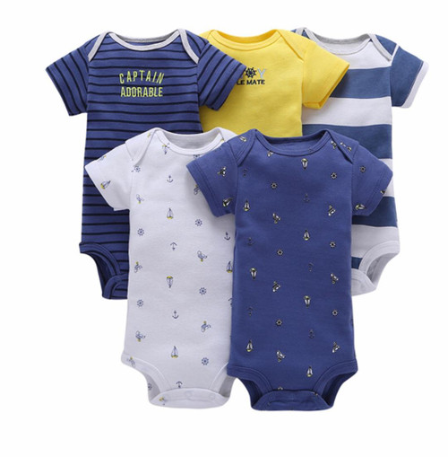 Organic Cotton Baby Clothes, Baby Boy Bodysuits