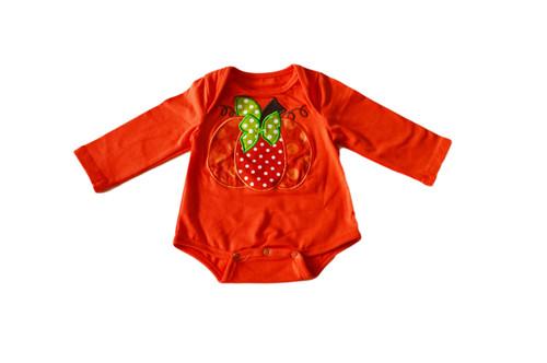 baby pumpkin onesie