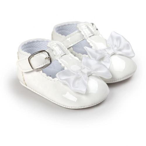 baby white patent mary janes