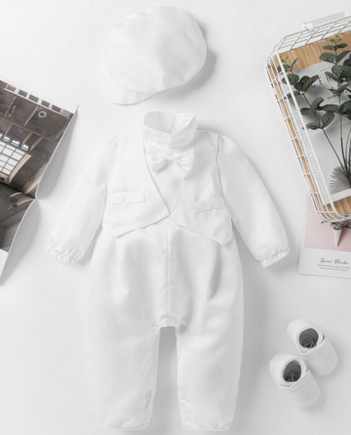 Noah Bow Tie Baptism & Christening Outfit