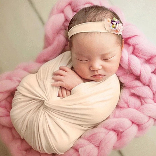 Baby Jersey Swaddle Wraps