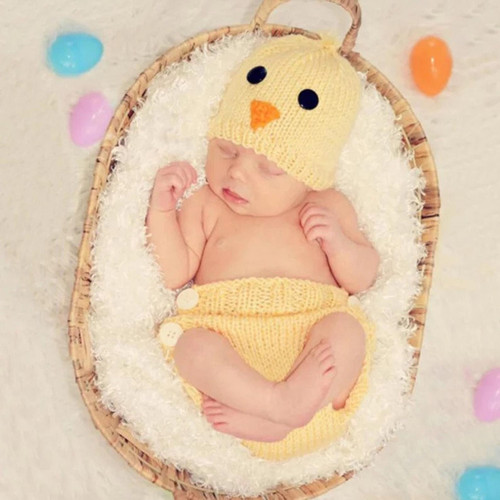 Chick Photography Prop Baby Easter Baby Shower Gift