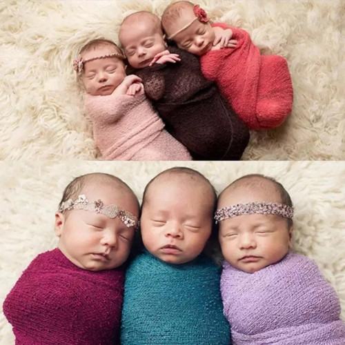 baby knit wraps many colors spring