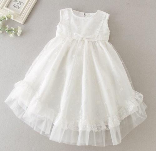 White Baptism dress Christening Gown
