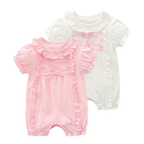 Baby Spring Rompers