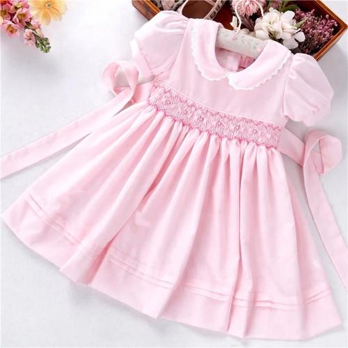 Baby Girls' Pink Smocked Easter Dress