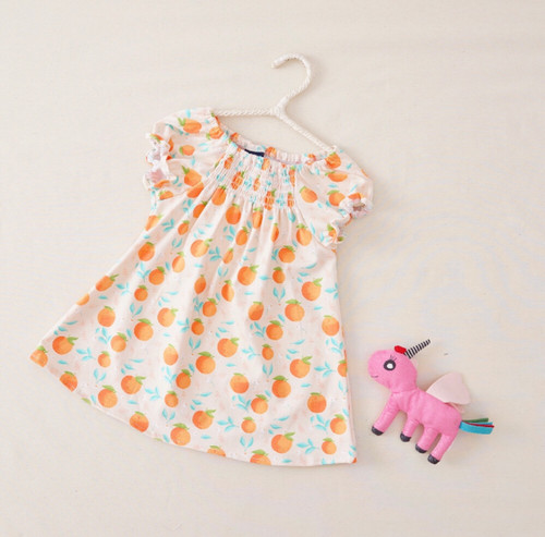 Baby Cotton Smocked Summer Dress