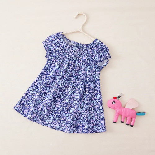 Purple Baby Dress
