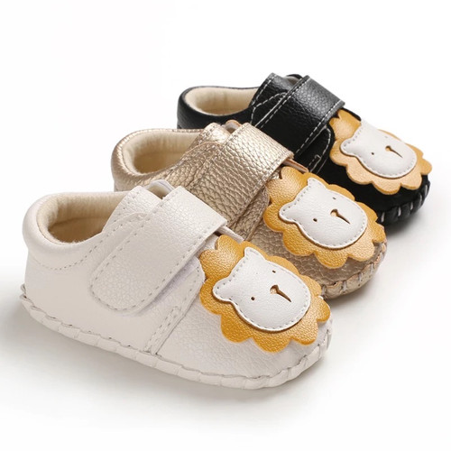 Vegan leather baby shoes