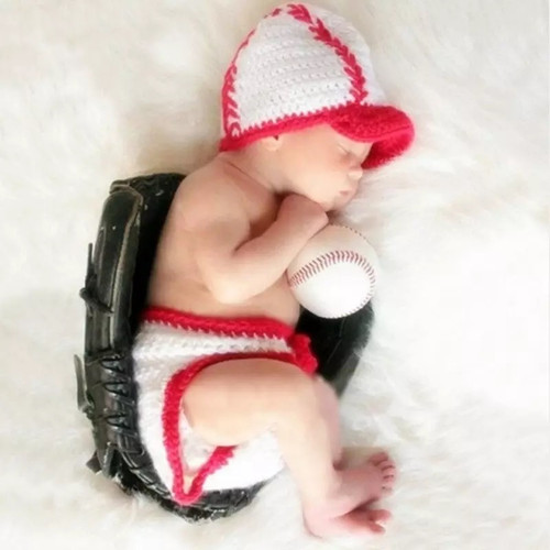 Baby Baseball photography prop