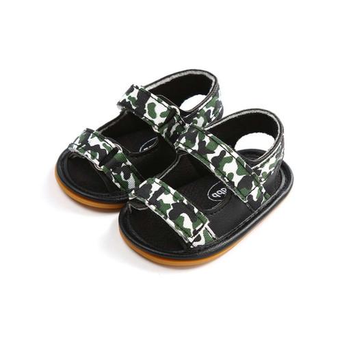 Baby Boy Rubber sole sandals