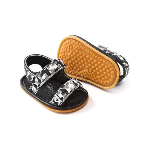 baby camouflage sandals