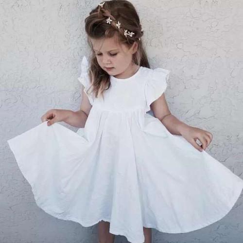 toddler linen dress
