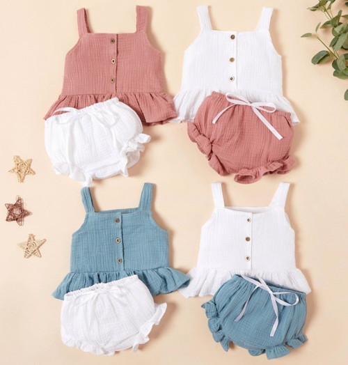 linen baby clothes