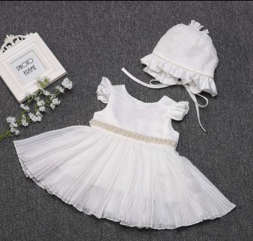 short baptism dress