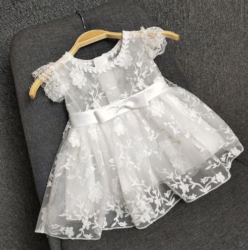 summer baptism dress