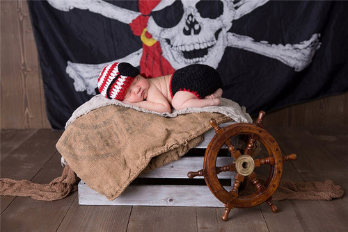 baby pirate photography prop