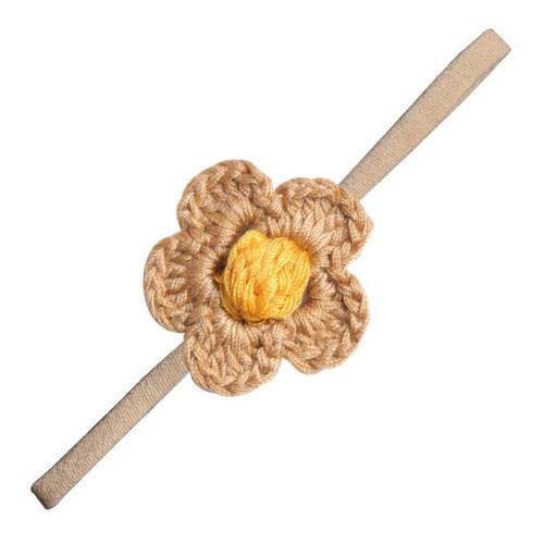 baby girl crochet nylon headband