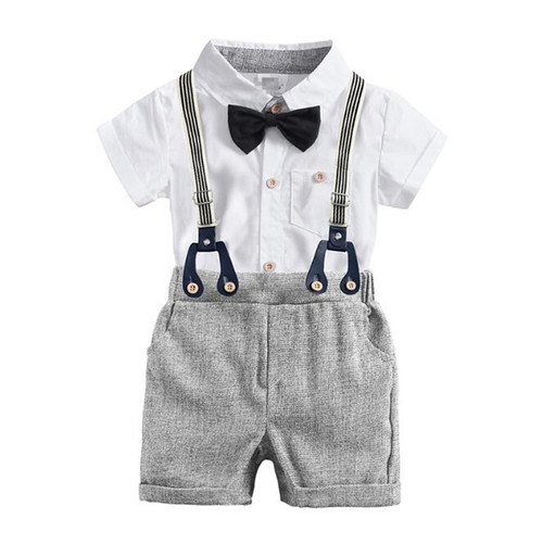 baby boy suspenders set