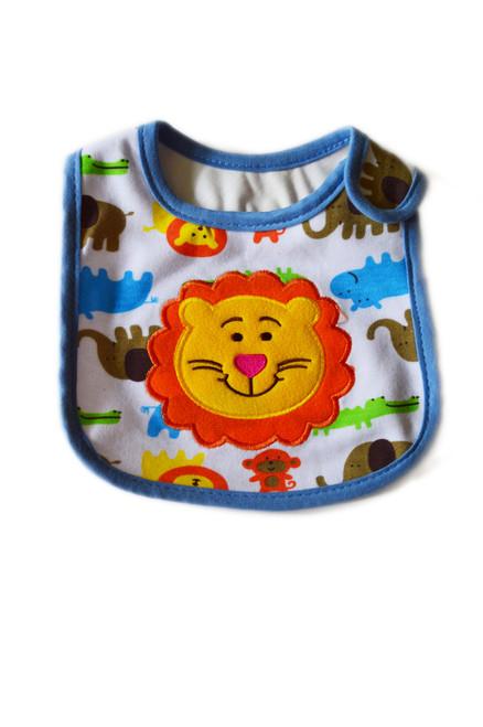 baby boy lion bib