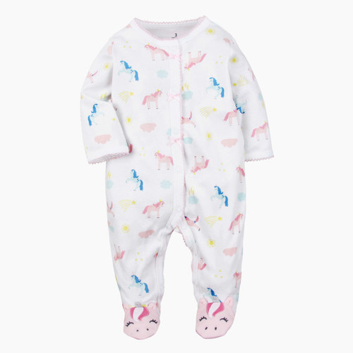 baby unicorn pajamas