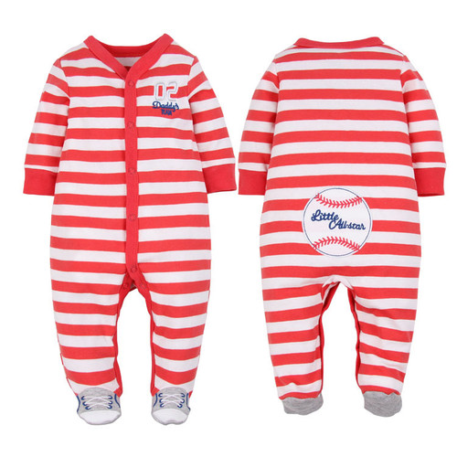 baby boy footie pajamas
