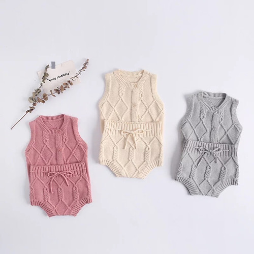 baby girl knit outfit