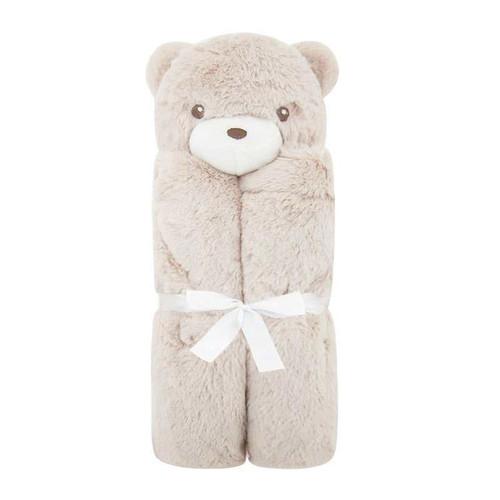 baby brown bear blanket