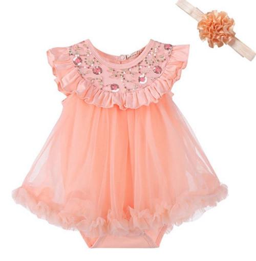 baby girl cake smash dress